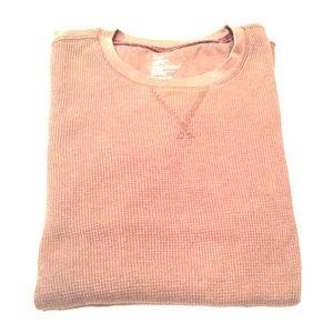 GAP Shirts - GAP Thermal Long Sleeve Tee - Clay